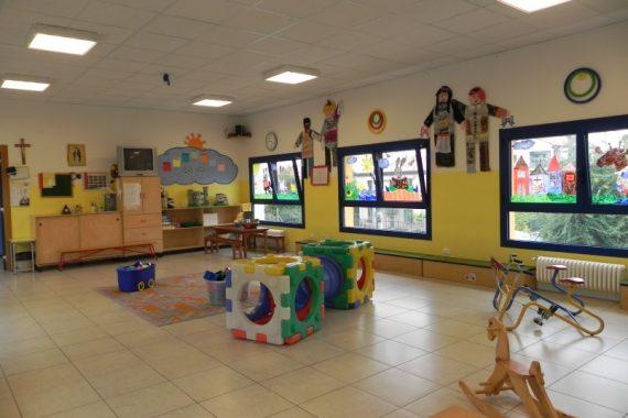 Sala dei giochi interna al Nido Integrato San Domenico Savio