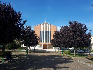 Chiesa Santa Maria Ausiliatrice all'esterno