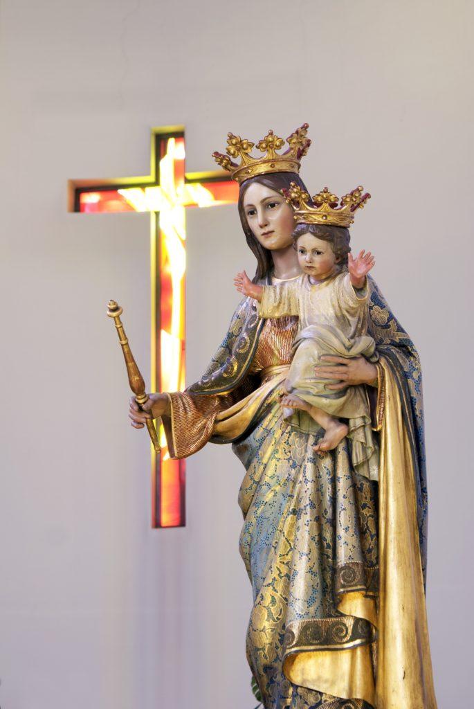 """""""Sotto il manto della Madre di Dio""""  nostra AUSILIATRICE"""