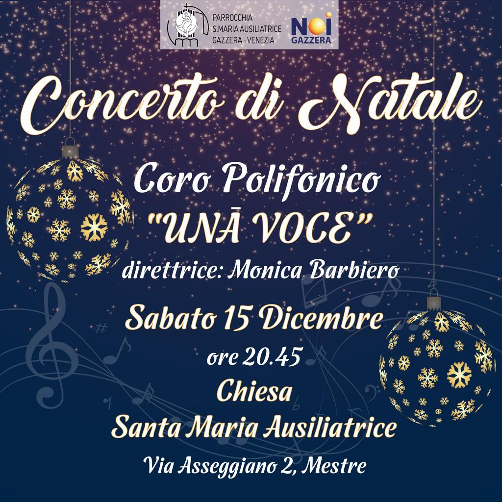 """Concerto di Natale – Coro """"Una Voce"""""""