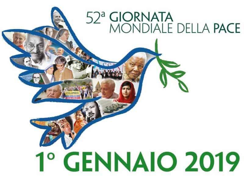 52^ Giornata mondiale della pace – Messaggio del Papa