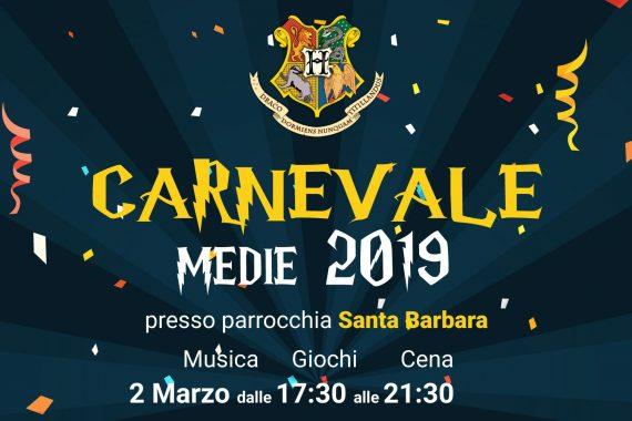 Carnevale Medie 2019