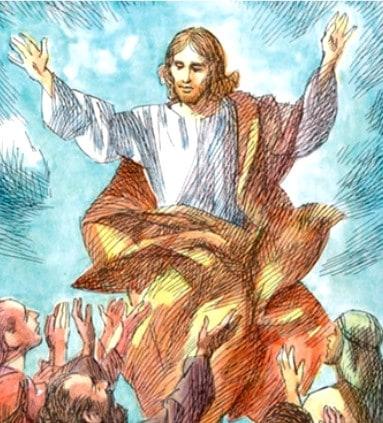 Gesù sale al Cielo NEL MISTERO DI DIO e resta con noi in terra