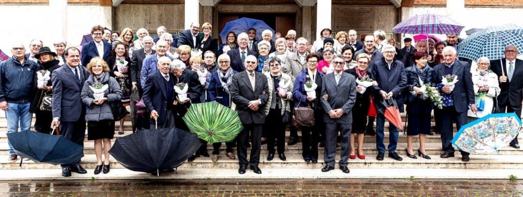 NOI SPOSI abbiamo celebrato nel mese di Maggio i lustri di Matrimonio