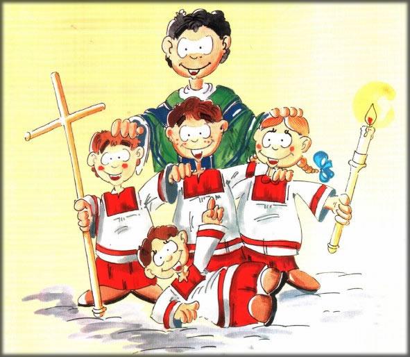 Quiz per chierichetti – II Domenica di Pasqua