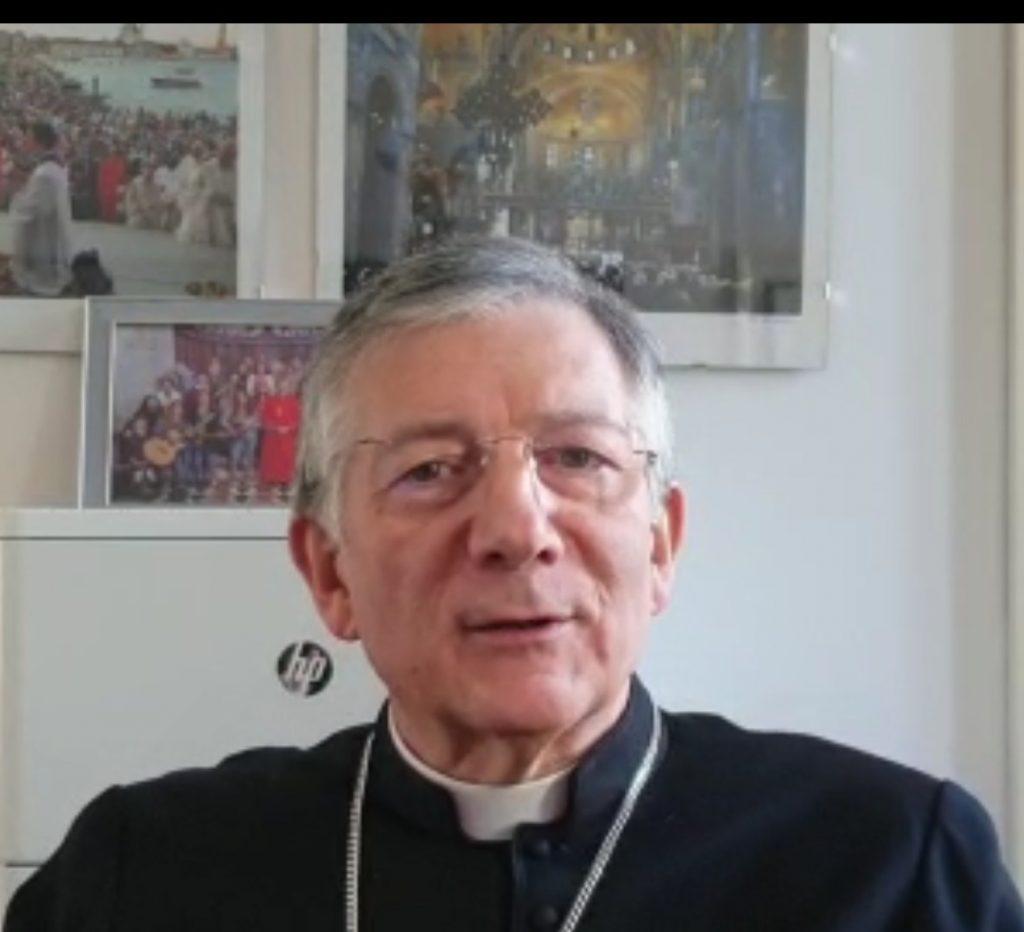 Videomessaggio del Patriarca ai sacerdoti e alle comunità di Gazzera e Asseggiano